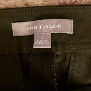 Ann Taylor black cropped casual/dress pants.